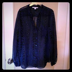 Diane von Furstenberg blouse - Size 14